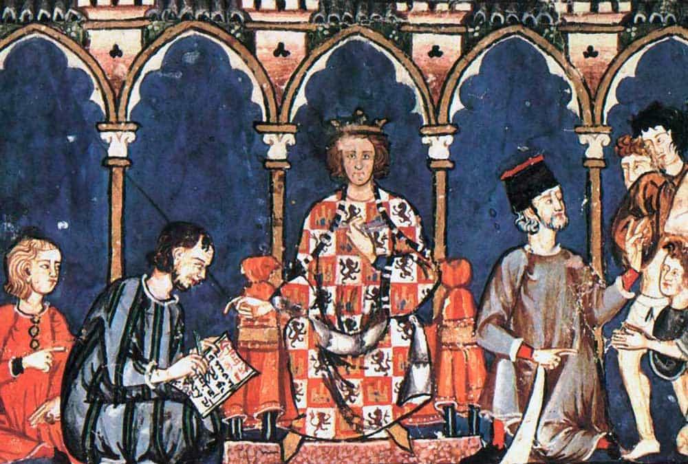 Alfonso X El Sabio - Escuela de Traductores de Toledo